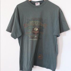 Vintage mike gold tournament T-shirt large
